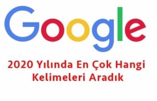 2020 Yılında Google'de En Çok Hangi Kelimeleri...
