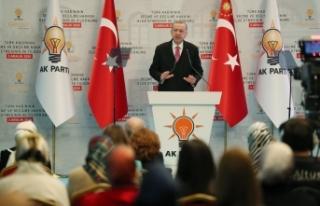 Cumhurbaşkanı Recep Tayyip Erdoğan'dan, Ayşe...