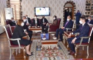 Gaziantep Büyükşehir Belediye Başkanı Fatma Şahin...