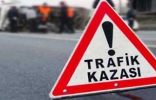 Siverek'te trafik kazası yaralılar var