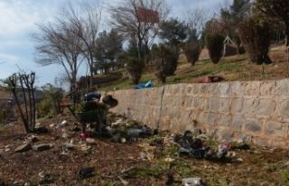 Tarihi Siverek Kalesinde Temizlik ve Bakım çalışması