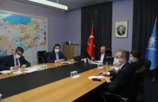 Urfa'nın ilçeleri AK Parti Genel Merkezinin...