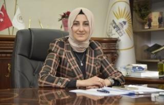 Belediye Başkanı Ayşe Çakmak Regaip Kandili'ni...