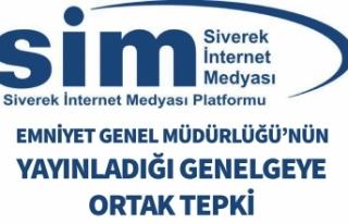 SİM'den Emniyet Genel Müdürlüğü Genelgesine...