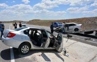 Siverek'te trafik kazası: 8 yaralı