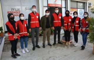 Siverek'te 'Vefa Sosyal destek' grupları vatandaşların...