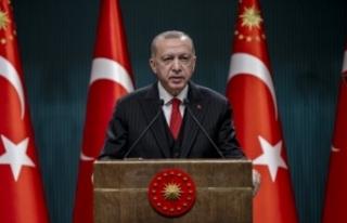 Başkan Erdoğan'ın Kabine Toplantısı kararları...