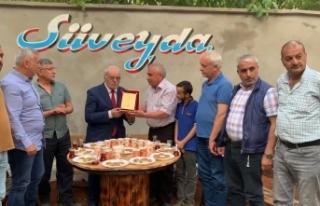 Onursal Başkan Koçali Aymaz'a vefa ve teşekkür...