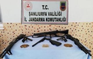 Silah kaçakçılarına şafak operasyonu!