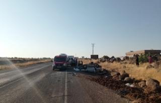 Siverek'te sabah saatlerinde kaza meydana geldi....