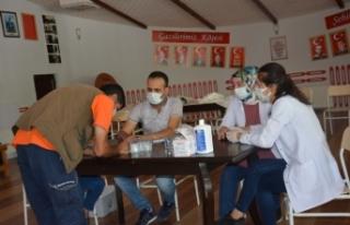Başkan Ayşe Çakmak'tan aşı seferberliği