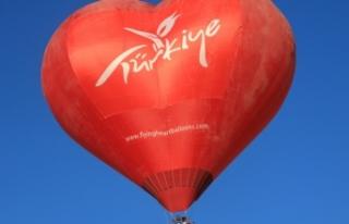 Göbeklitepe'de sıcak hava balon uçuşları...