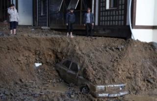 Sel ve heyelan felaketi yaşanan Rize'de hayatını...