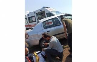 Siverek'te 2 ayrı kazada 5 kişi yaralandı
