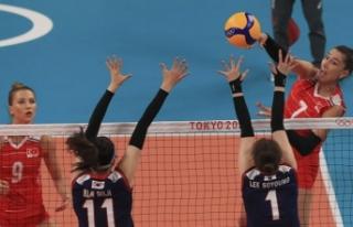 Tokyo 2020 | A Milli Kadın Voleybol Takımı yarı...