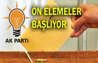 AK Parti Şanlıurfa aday adaylarının alt komisyonu...