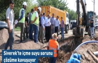 Çiftçi: İçme Suyu Sorunlarını Kısa Sürede...