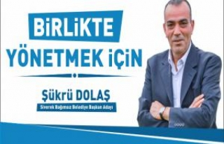 Gazeteci Şükrü Dolaş Belediye Başkan Adaylığını...