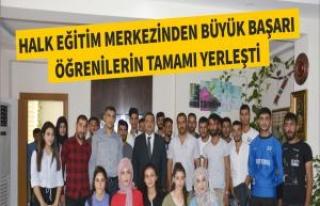 Halk Eğitim Merkezinden Büyük Başarı