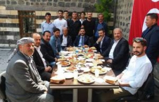 MHP İlçe Başkanı gazetecilerle bir araya geldi