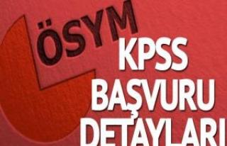 Orta öğretim KPSS başvuruları ne zaman sona erecek?