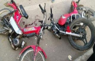 Siverek'te iki motosiklet kafa kafaya çarpıştı:2...