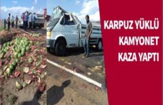 Siverek'te Trafik Kazası Meydana Geldi 3 Yaralı