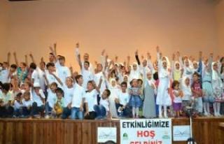 Siverek'te çocuklar namaz ile hayat buldu