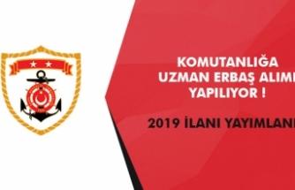 2019 yılı uzman erbaş alım ilanı yayımlandı