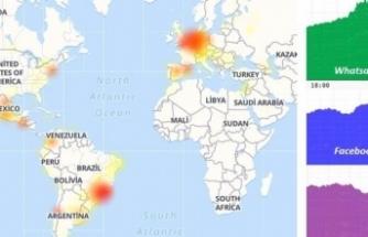 Instagram ve Whatsapp'a erişim sorunu