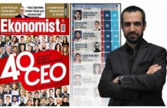 Urfalı işadamı 'Türkiye'nin En Güçlü Patronları' listesine girdi!