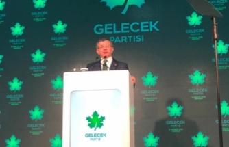 Davutoğlu 'Gelecek Partisi'ni ilan etti