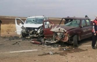 Siverek'te feci kaza: Çok sayıda yaralı var!