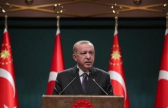 Cumhurbaşkanı Erdoğan, esnafa destek paketini açıkladı