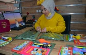Genç Girişimciden 'Çocuklar gülsün' Projesi