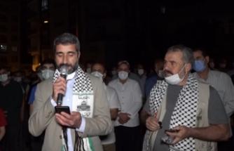 Siverek'te Kudüs Platformundan Filistin'e destek
