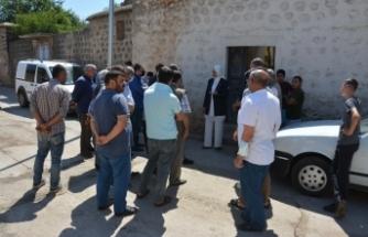 Başkan Ayşe Çakmak, Kale mahallesinde incelemelerde bulundu