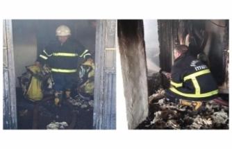 Siverek'te korkutan yangın! Sekiz kişilik ailenin yaşadığı ev küle döndü