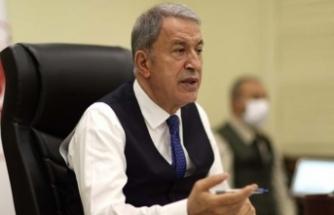 Milli Savunma Bakanı Akar'dan Türk askerlerinin Afganistan'dan tahliyesine ilişkin açıklama