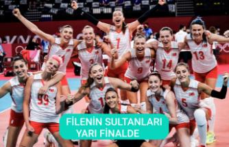 Filenin Sultanları, Polonya'yı devirdi; Avrupa Şampiyonası'nda yarı finale yükseldi!