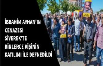 Eski HDP Milletvekili İbrahim Ayhan'ı Binler Uğurladı