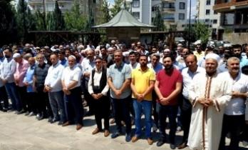 Siverek'te Muhammed Mursi İçin Gıyabi Cenaze Namazı Kılındı