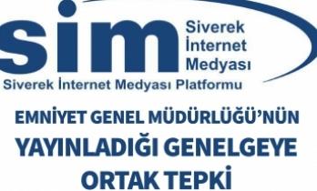 SİM'den Emniyet Genel Müdürlüğü Genelgesine Tepki