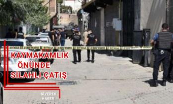 Siverek'te Gün ortasında silahlı çatışma!
