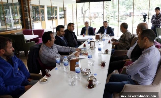 Gazeteciler buluşmasında projeler konuşuldu