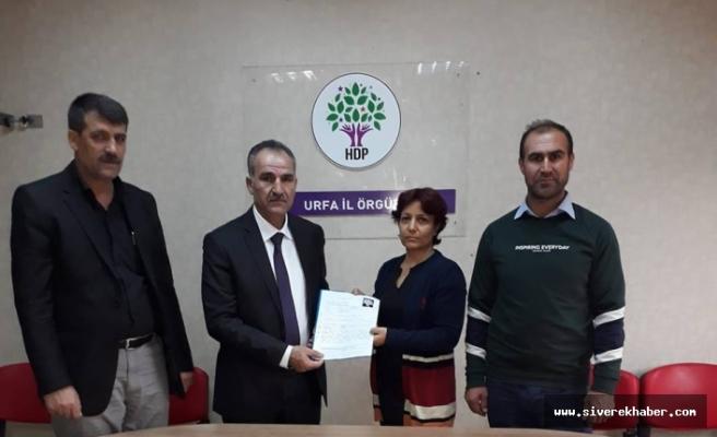 Göktaş, HDP'den Siverek Aday Adaylığını Açıkladı