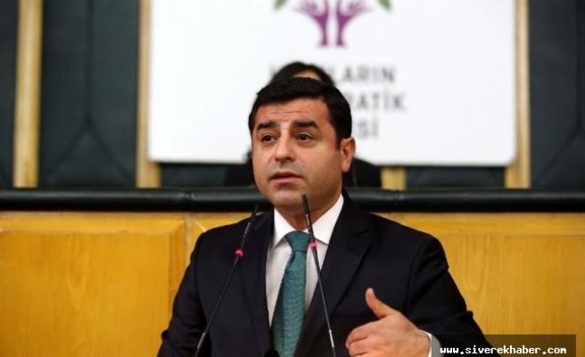 HDP'den Demirtaş sürprizi