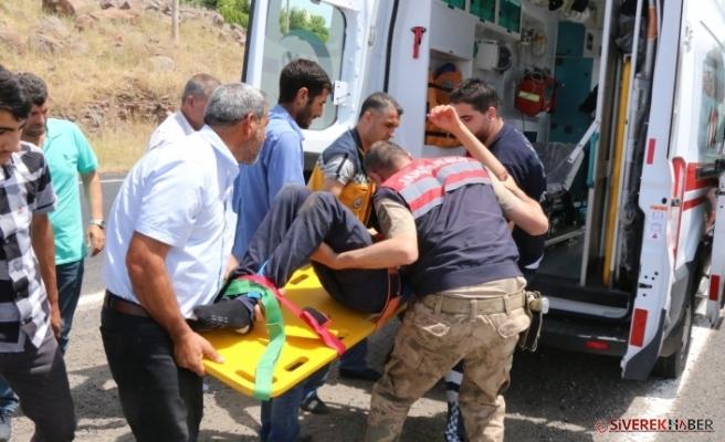 Siverek'te Trafik Kazasında Meydana Geldi