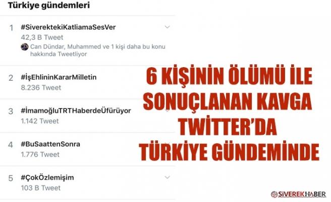 Siverek Twitter'da Türkiye Gündeminde!