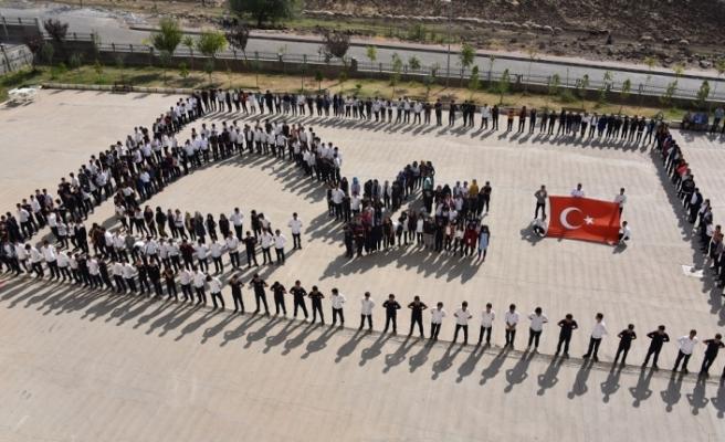 Siverek'li Öğrencilerde Barış Pınarı Harekâtına Destek